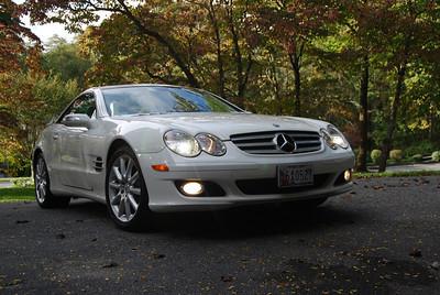 2007 Mercedes sl550