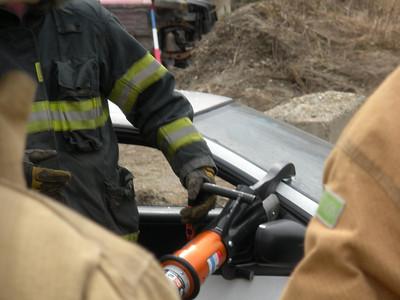 Liberty Area Auto Extrication Training 4-15-2011