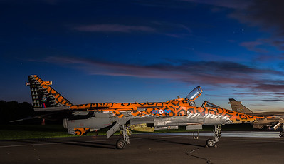 TLE Cosford Jaguar night shoot