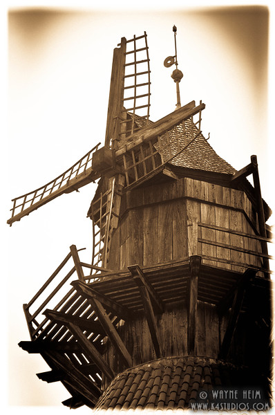 French Windmill   Photography by Wayne Heim