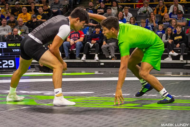 Shayne Van ness Branchburg, NJ (New Jersey) VSU1 Dominick Serrano Greeley, CO (Colorado), 16-6 5:22 - 2019 Who's #1