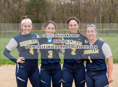 5/3/2017 - Varsity Softball - Framingham vs Needham