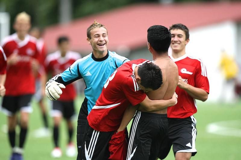 Spain 2012 - Day 9 - Game 4 vs Antigua Luberri B
