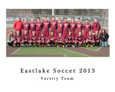 Eastlake Individual and Team Pictures 2013