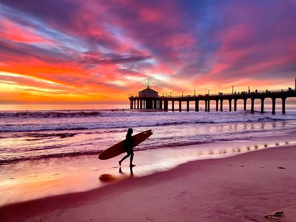Manhattan Beach Sunset Photowalks 12/7-12/11