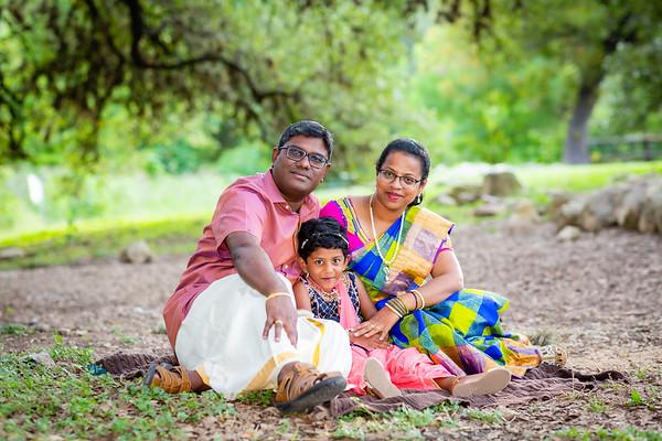 Joylin's 4th Birthday Family Photo Shoot