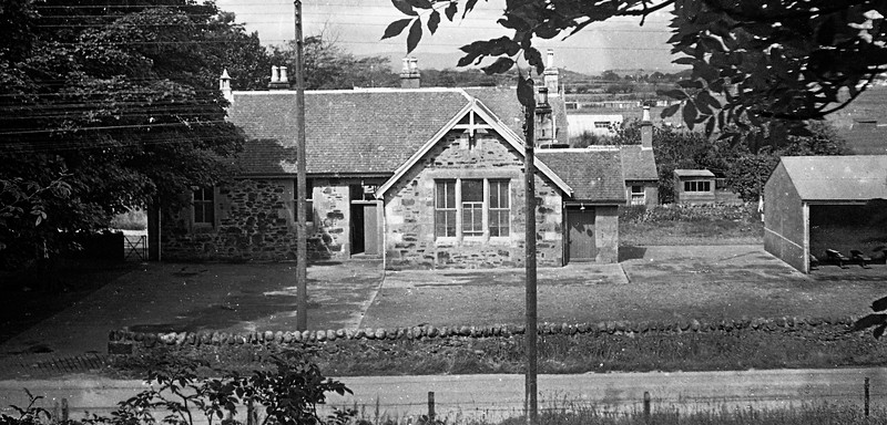 Lochnell Primary School, Benderloch.  July 1965