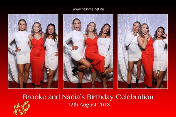 Brooke & Nadia's Celebration - 12 August 2018