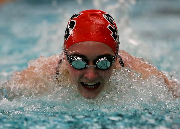 SNHS Swimming vs BC 2015