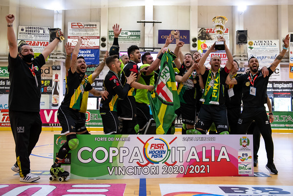 Finale Coppa Italia A2: Engas Hockey Vercelli vs CGC Viareggio