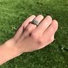 2.10ct Art Deco Peruzzi Cut Diamond Ring, GIA W-X SI2 18