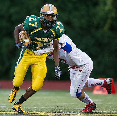 Grosse Pointe North v Cousino, Football, 9-21-12