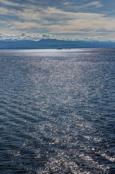 Ferry to Comox, British Columbia