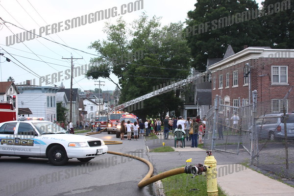 Structure Fire/77 Washington St, Gloversville,6-28-2009