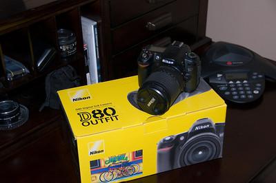 *** SOLD *** Nikon D80 with 18-135mm f/3.5-5.6G ED-IF AF-S DX Zoom Nikkor Lens
