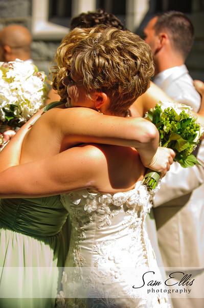 Katelynn and AJ ceremony