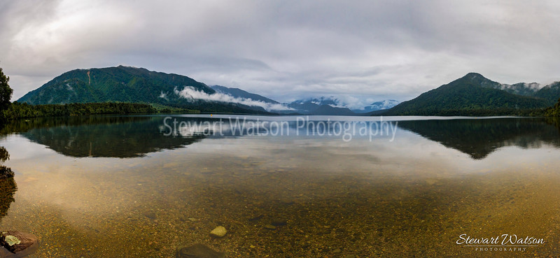 Lake Kaniere Pnorama