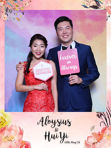 Wedding of Aloysius & Hui Yi