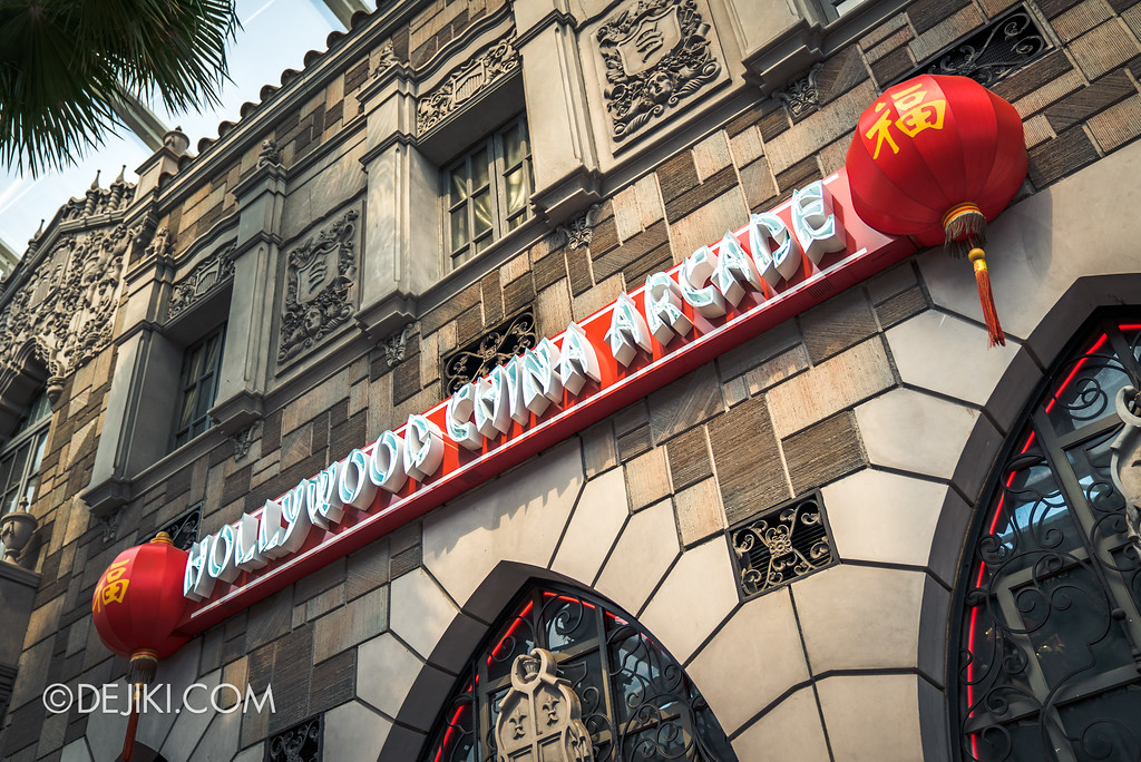 Universal Studios Singapore - Hollywood China Arcade / exterior