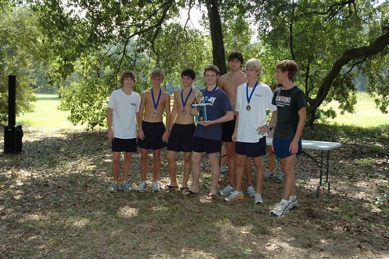 2nd overall Boys' team, Maclay.