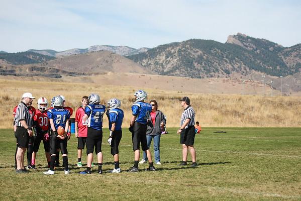 Mustangs Football 2011 game 5