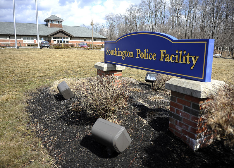 3/20/2014 Mike Orazzi | Staff The Southington Police Station.