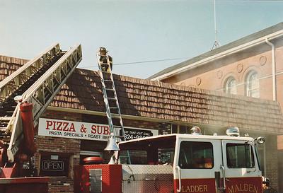 Malden, MA 8/1987 - Pizza/Sub Shop