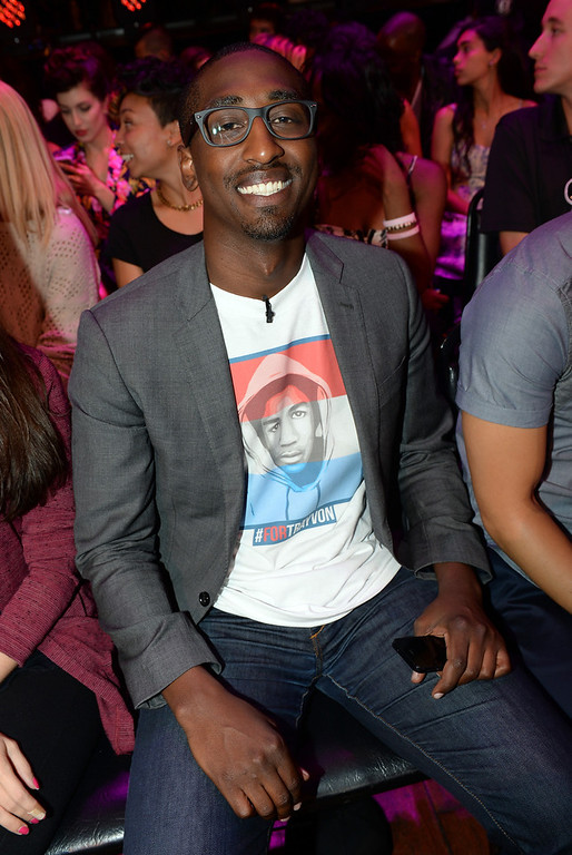 . Daniel Maree of Millions of Hoodies Movement for Justice attends the DoSomething.org and VH1\'s 2013 Do Something Awards at Avalon on July 31, 2013 in Hollywood, California.  (Photo by Michael Buckner/Getty Images for VH1)