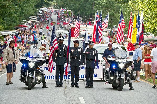Peachtree City 2014 Fourth of July Parade