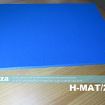 SKU: H-MAT/2938, High Temperature Resistant Silicone Foam Rubber Mat of 290mmx380mm Size and 8mm Thickness