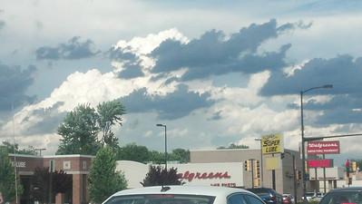 Strange Clouds/Weather - June 2013