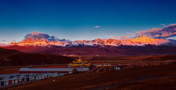 China, Garze-Tibet, Pel Lhagong (Tagong),  Rongzhag (Danba),  甘孜, 丹巴,  塔公,  新都桥
