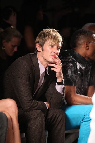 NEW YORK, NY - SEPTEMBER 07:  Actor Gabriel Mann attends Billy Reid's spring 2013 fashion show during Mercedes-Benz Fashion Week at Eyebeam on September 7, 2012 in New York City.  (Photo by Chelsea Lauren/Getty Images)