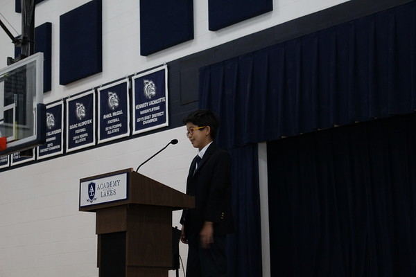 Public Speaking Assembly 2018