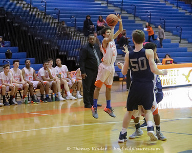 Boys Frosh Basketball vs Washington Lee 2/3/17