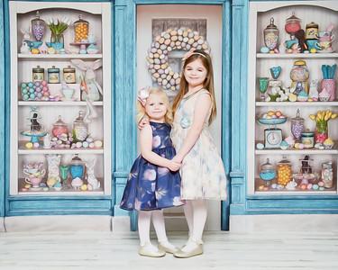 Madison & Scarlet Easter 2021