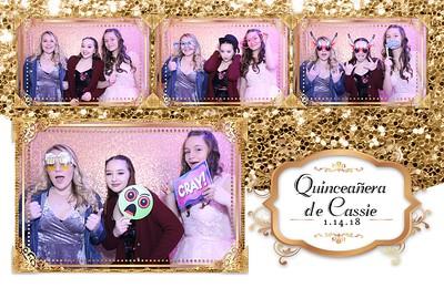Barrett Quinceanera Photobooth 1.14.2018