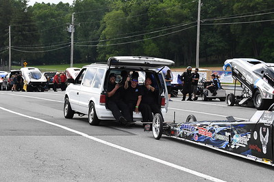 Top Alcohol Pits and Staging Lanes