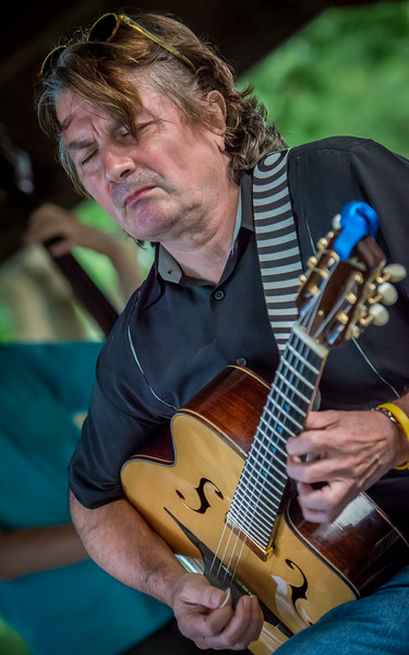 Reynold Philipsek-Gypsy Mania-Delano Music in the Park 2014.