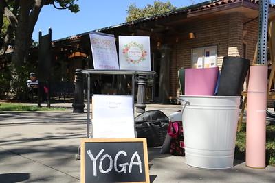 #FreshYoga Farmers Market Yoga