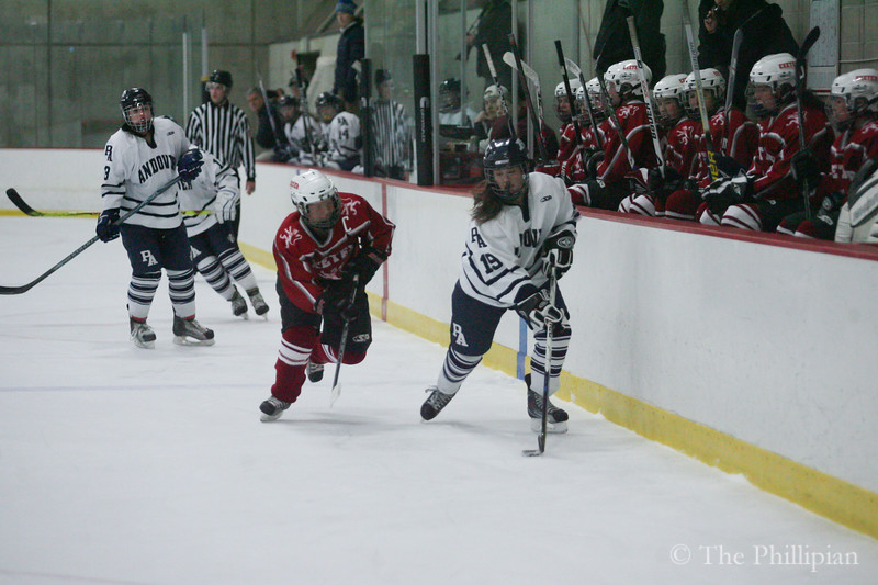 Girls Hockey vs. Phillips Exeter Academy 2/26/11