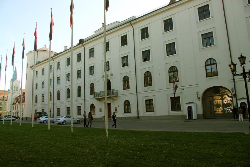Riga Castle The official residence of the President of Latvia -Riga, Latvia