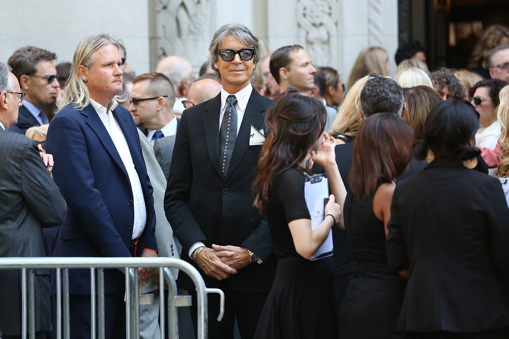 . Tommy Tune attends the Joan Rivers memorial service at Temple Emanu-El on September 7, 2014 in New York City.  (Photo by Taylor Hill/Getty Images)
