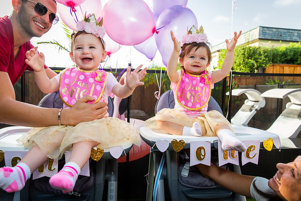 Bella and Bianca 1st Birthday Party