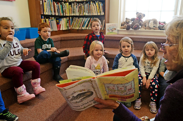 Storytime at Bennington Free Library - 111319