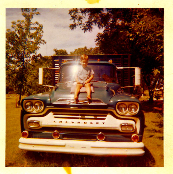 Me and dads truck.