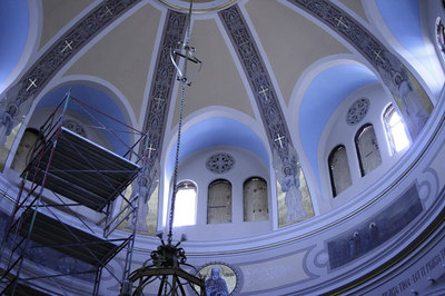 St. Mary's Orthodox Cathedral Renovation July 2006