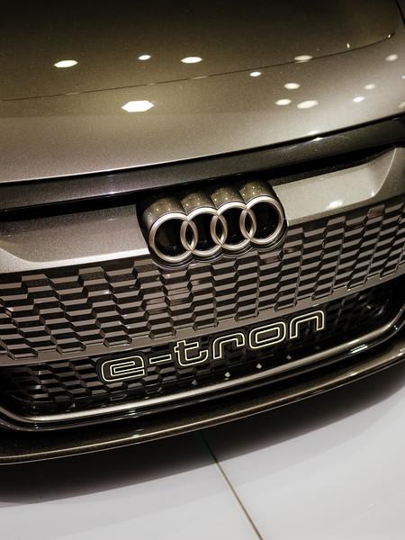 Details Audi E-Tron - Samuel Zeller for the New York Times