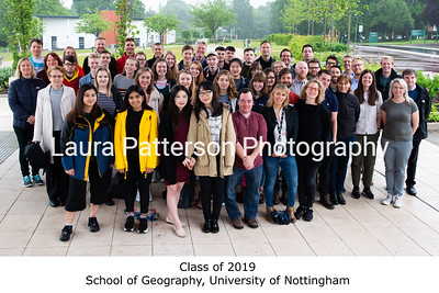Class of 2019, School of Geography, University of Nottingham