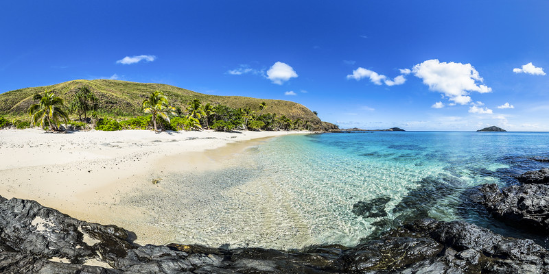 Pure and Wild Paradise Beach - Yasawa - Fiji Islands